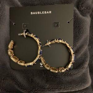 BaubleBar Jewelry - NWT: BAUBLEBAR  HOOPS